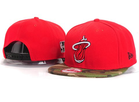 Miami Heat NBA Snapback Hat YS260